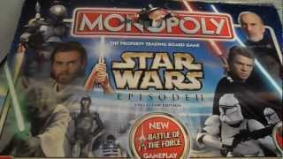 INSIDE THE GAME MONOPOLY STAR WARS VERSION