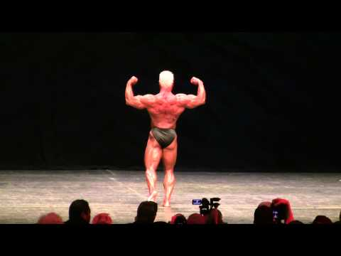 James Hampton IFBB Pro Bodybuilder 2012 Master Mr Olympia