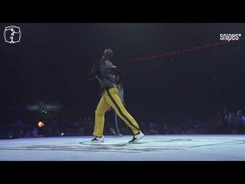 House dance Best 16 - Juste Debout 2019 - Karim Flex & Zach Swagga vs Taesung & House Taek