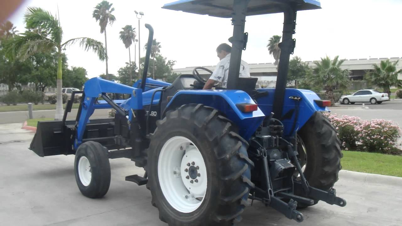 New Holland Tractor Agricola Tl80