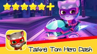 Talking Tom Hero Dash Run Game Day46 Walkthrough Super Cool Recommend index five stars+