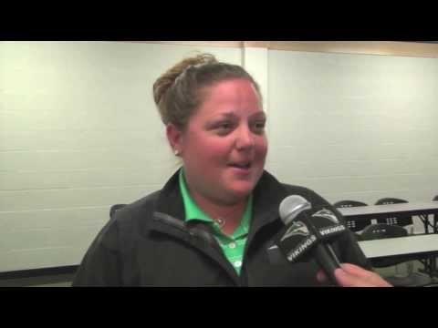 Coach Downs and Players Discuss 2014 NCAA West Regional Berth - Portland State Women