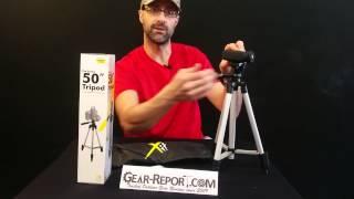 Gear-Report.com: Cheap 50 Inch Aluminum Camera Tripod
