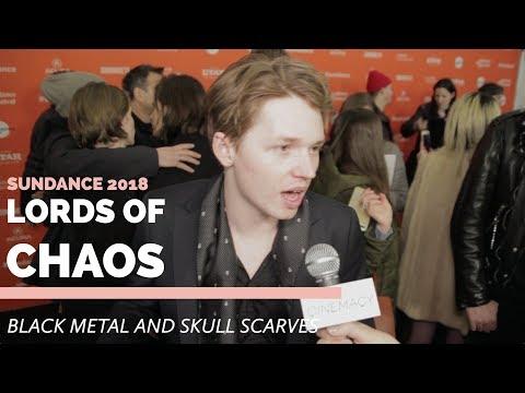 Sundance 2018  Talking Black Metal with Jack Kilmer, Valter Skarsgård and more from Lords of Chaos