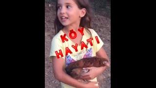 Köy Hayatı Vlog. Köyde Bir Gün.Ecrin Su Çoban.