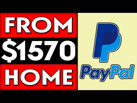 Make Up To $1570 In PayPal Money (Work From Home)