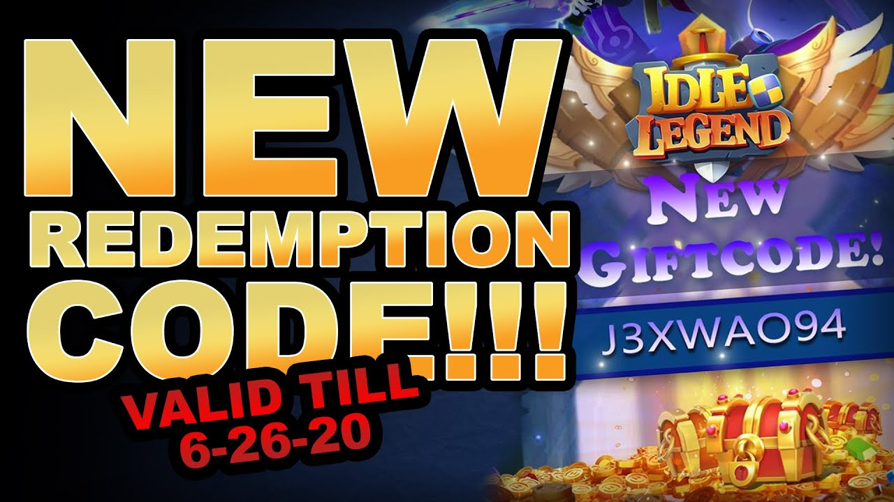 Redemption Code**EXPIRES**REDEEM NOW!! - (Idle Legend: 3D ...