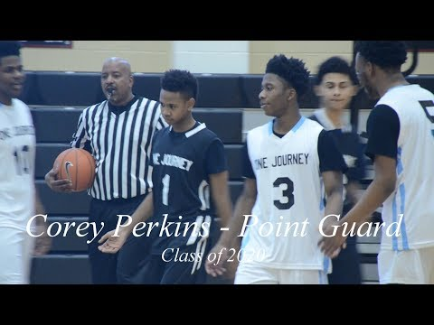 Corey Perkins 2020 PG was dropping dimes in the One Journey Delaware Hoops Class...