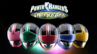 My cover Pawer Rangers Time Force.