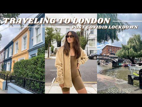 TRAVELING TO LONDON post covid-19 quarantine restriction // Part 1 London // vlog 027