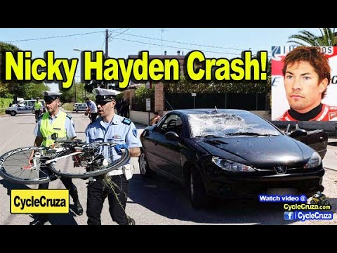 Nicky Hayden Crash - (MotoGP Champion) - YouTube