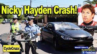 Nicky Hayden Crash -  (MotoGP Champion)