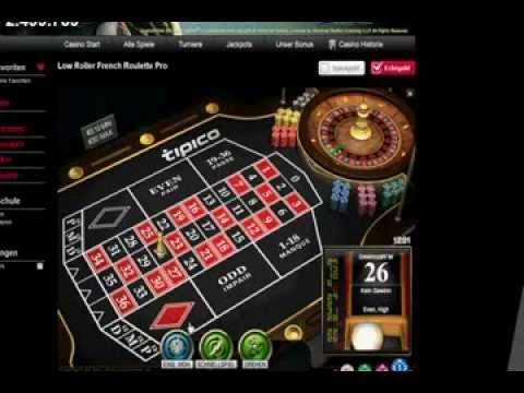 Roulette Strategie 2014 - Gewinnstrategie, Roulette System