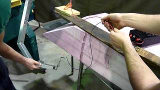 Airboat Hull - Hot Wire Foam Cutting (1)