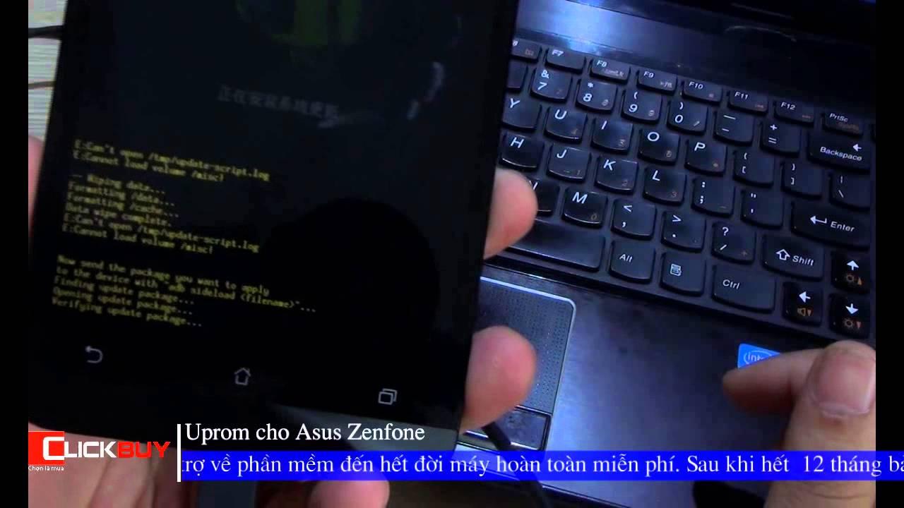 [Clickbuy's channel] - [Thủ thuật] Asus Zenfone hướng dẫn cài rom
