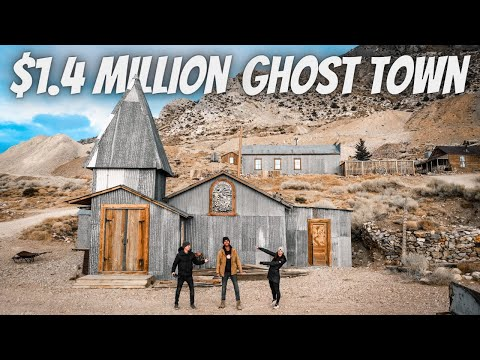 HE BOUGHT AN ABANDONED GHOST TOWN (full Tour)