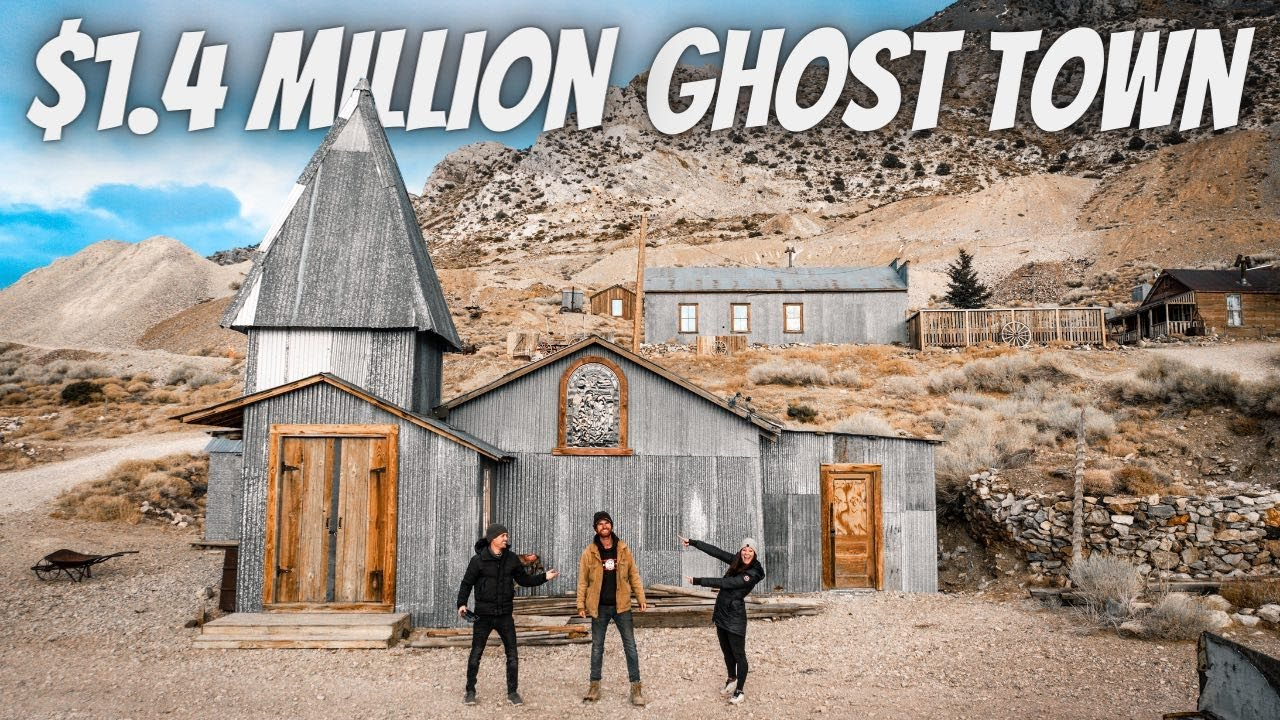 HE BOUGHT AN ABANDONED GHOST TOWN (full tour) - download from YouTube for free