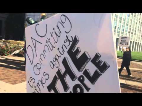Detroit Animal Control Protest