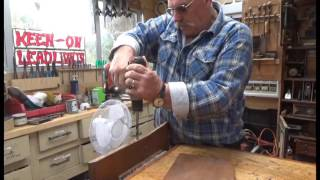 Antique Furniture Restoration Repairing An Oak Table Top