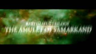 The Amulet of Samarkand [ Trailer ] The Bartimaeus Trilogy