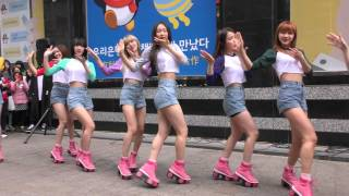 160402  OH MY GIRL_   One Step Two Steps  Fancam