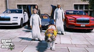 GTA 5 REAL LIFE PRINCE OF DUBAI MOD#8 BUYING THE MOST EXPENSIVE TIGER IN THE WORLD