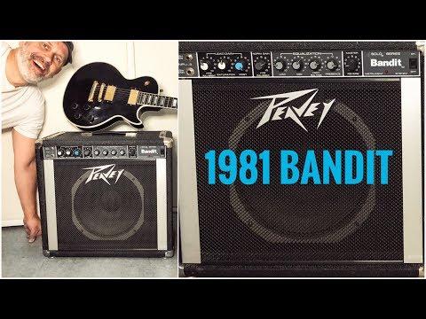The Original Peavey Bandit!? 1981 Solo Series Bandit