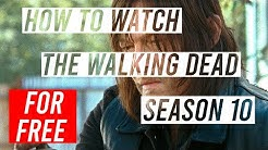 How To Watch The Walking Dead Season 10 FREE /w Tutorial