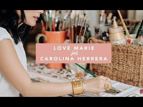HOW I PAINT MY BAGS: LOVE MARIE FOR CAROLINA HERRERA | Heart Evangelista