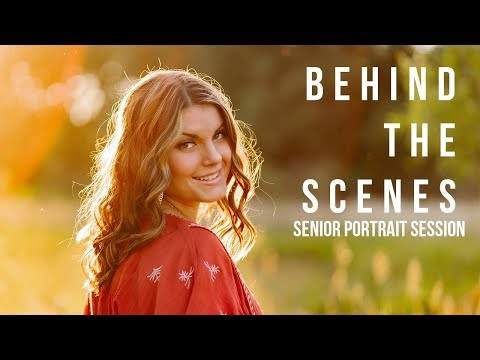 Behind the Scenes Natural Light Photography Tutorial thumbnail