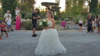Французская Свадьба. Аперитив БУКЕТ НЕВЕСТЫ СЛОВИЛА ЕЁ МАМА Mariage ? Français N&N