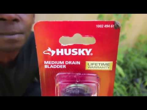Using a Drain Bladder to Unclog Your Drain - YouTube on