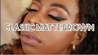 NEW WET'N'WILD NO SO BASIC PEACH | CLASSIC MATTE BROWN | FALL MAKEUP 2018 | Nicolah Ann