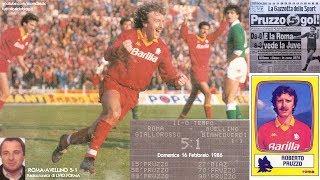 Roma-avellino 5-1  16/2/1986  Radiocronaca Di Livio Forma  Tutto Il Calcio Minuto Per Minuto