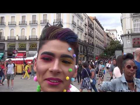Mr Gay Madrid Competition 30th June 2017 in its 10th  yers. Part 1