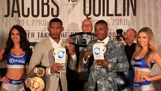 Daniel Jacobs vs. Peter Quillin full video-COMPLETE Press Conference & Face Off Video