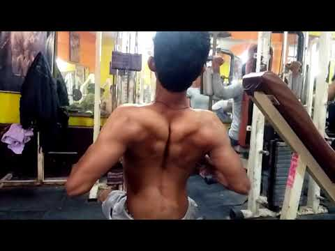 Back exercise in fitness health gym 💪 (Buxar)