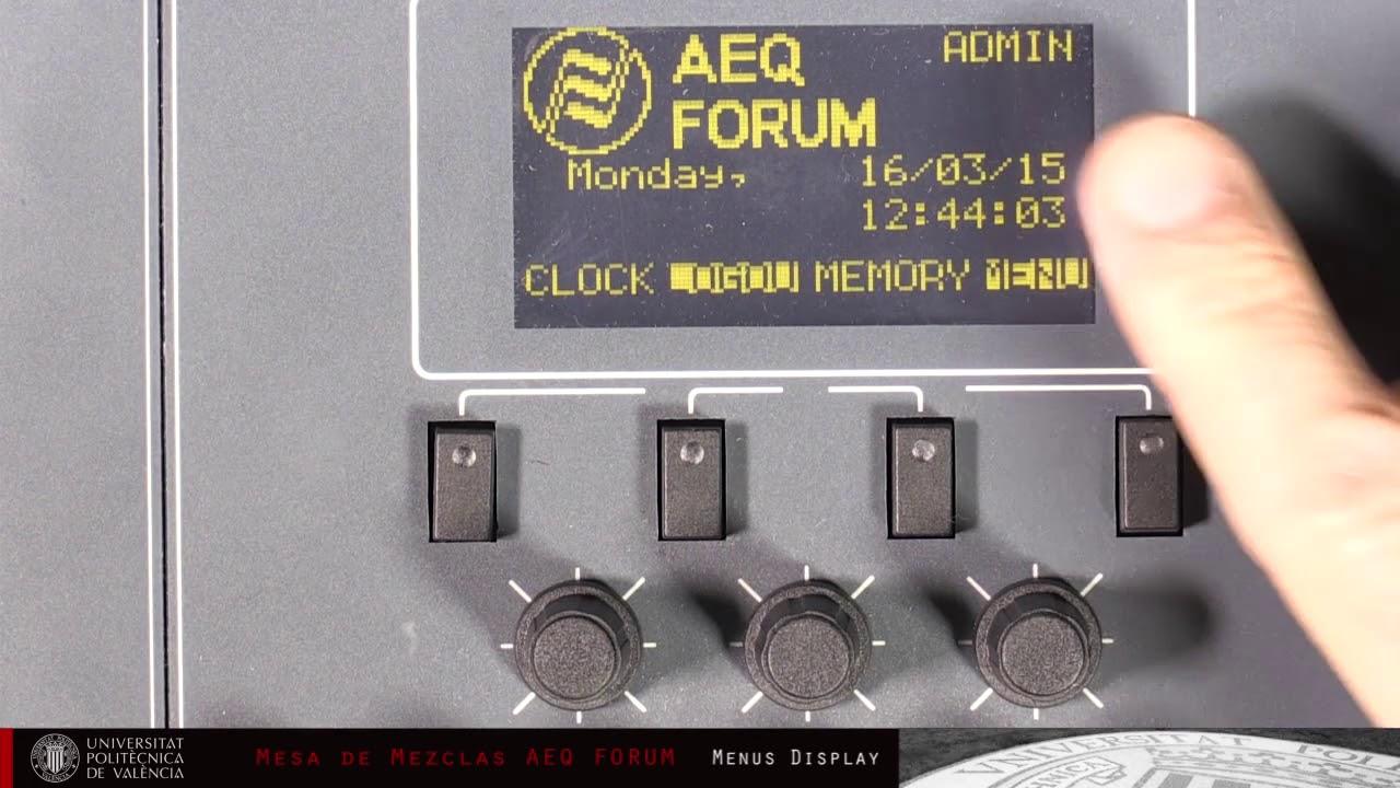Mesa De Mezclas Aeq Forum Dj Equipment