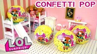 LOL Surprise Confetti Pop Series 3 Sorpresa L.O.L Muñecas Bebes LOL SURPRESA BONECA