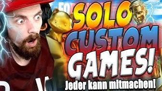 Season 2 SOLO Custom Games !ALLE können mitmachen!