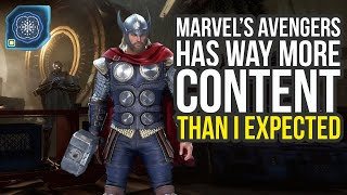 Marvel Avengers Game Has Way More Content Than I Expected - EXCLUSIVE New Info (Marvel's Avengers)