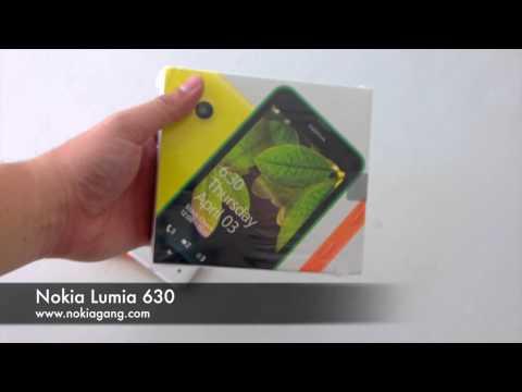 Unboxing Nokia Lumia 630 มีอะไรบ้าง มาดูกัน
