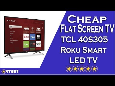 Cheap Flat Screen TV #5 - TCL 40S305 Roku Smart LED TV Review