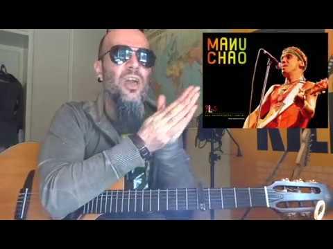 Como tocar BONGO BONG de MANU CHAO en GUITARRA   Tutorial FACIL