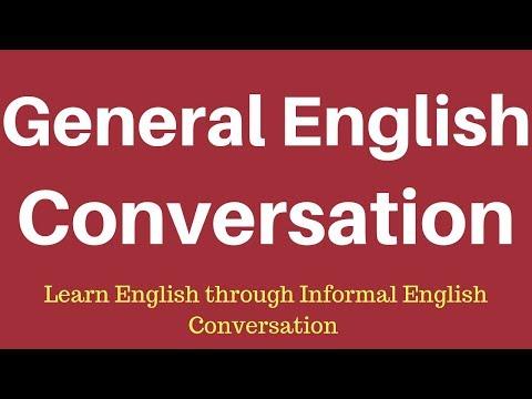 Learn English Through English Conversation General Spoken English video