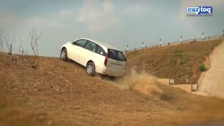 tata aria 4x4 video review and full road test cartoq com t