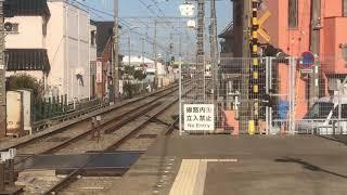 山陽5000系5020F直通特急阪神大阪梅田行き 中八木駅通過