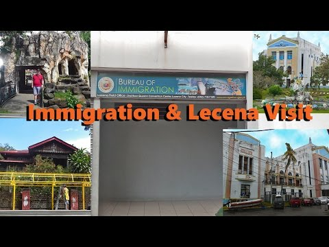 Visit Lucena & Immigration