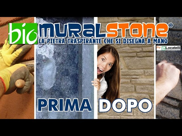 MEDILTECH BioMuralstone - la pietra traspirante che si disegna a mano