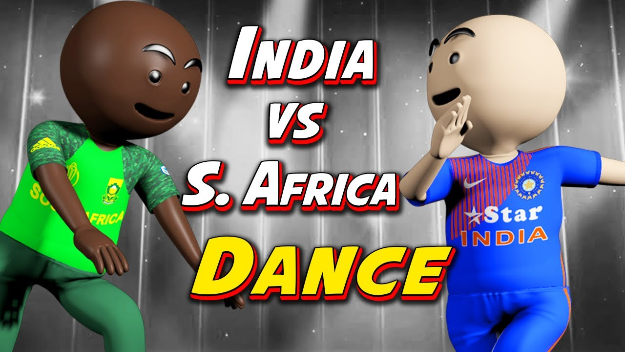 3D ANIM COMEDY - CRICKET || INDIA VS SOUTH AFRICA || PART 1